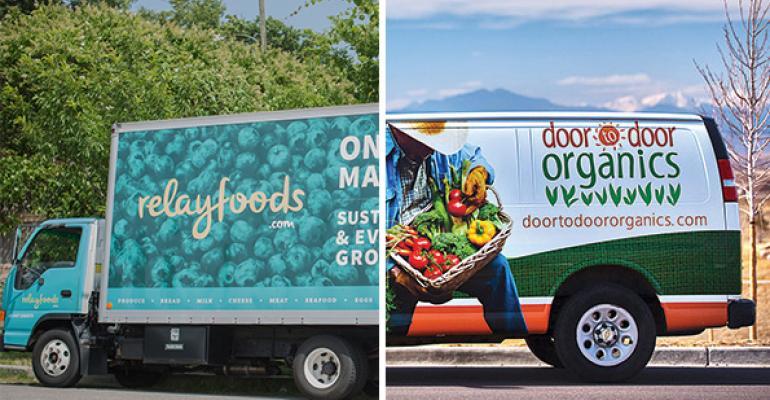 Online grocers Door to Door, Relay Foods to merge