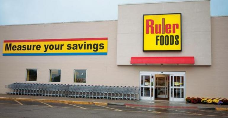 The nascent discount chain Ruler Foods is among several alternative concepts undertaken by Kroger this year Company officials expect capital expenditures will increase by 25 this year