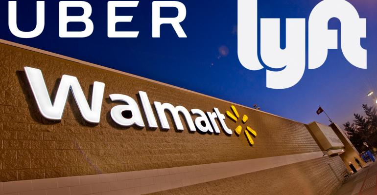 Walmart to test delivery with Uber, Lyft