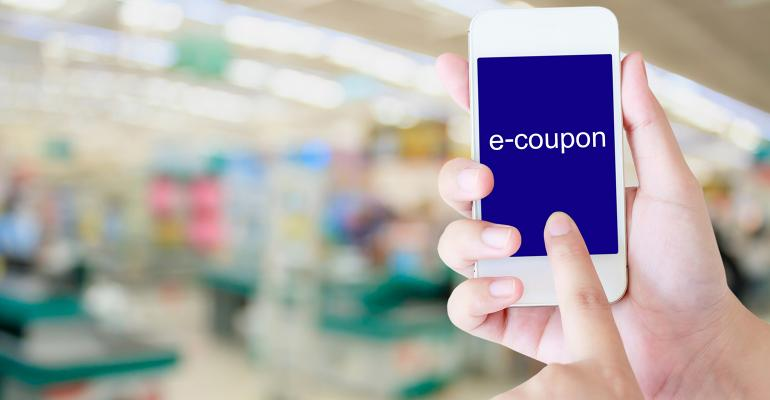 Incentivizing the shopping cart with mobile-based coupons
