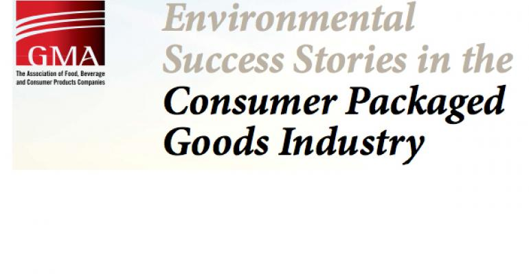 GMA report highlights sustainability successes