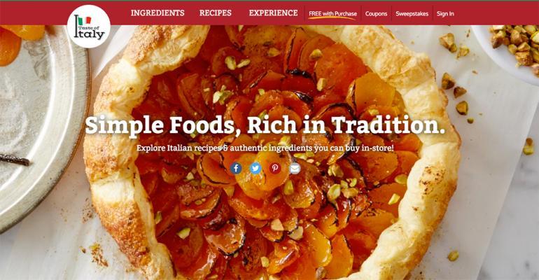 Kroger offers Taste of Italy