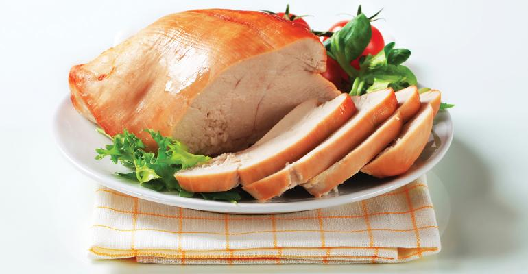 More consumers are buying partial birds like turkey breasts retailers said