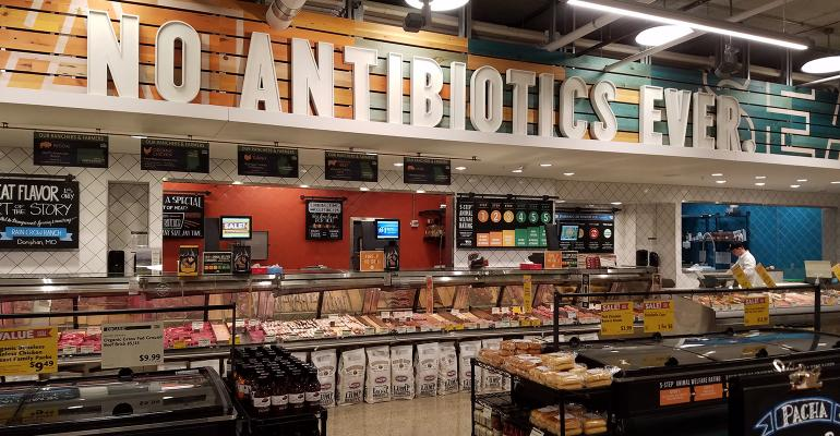This sign in Whole Foods39 latest St Louis store leaves no doubt about what39s not in its meat offering