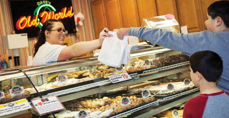 Daversquos Supermarket39s ldquoOld World Bakeryrdquo sells more than 30 varieties of doughnuts among its large selection of homemade goods Photos courtesy of Dave39s Superrmarket