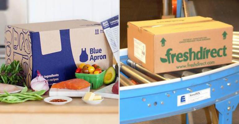 How FreshDirect, Blue Apron satisfy consumer taste trends