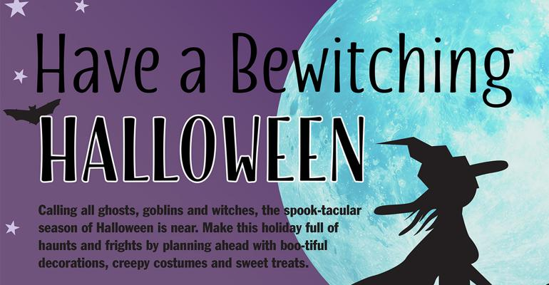 Click here to view Meijer39s quotbewitchingquot Halloween infographic