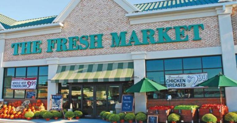 The Fresh Market will introduce the resets at three stores next week