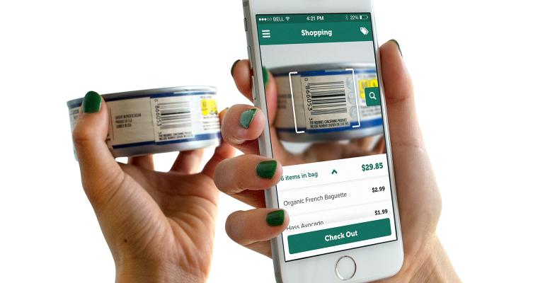 California Fresh Market coowner Alfred Holzheu says the FutureProof Retail app is quotradically differentquot from other selfcheckout concepts
