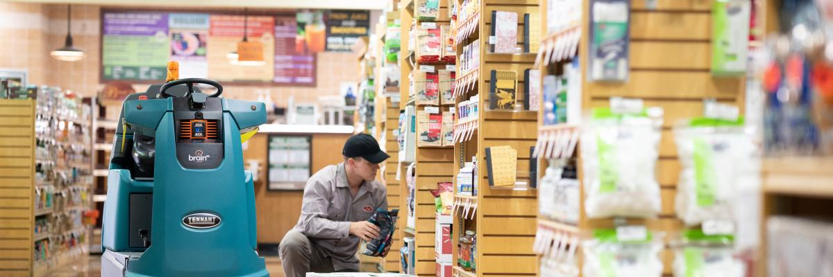 How robots help retailers meet today's cleaning challenges