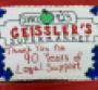 Geissler's IGA Celebrates Anniversary With Cake
