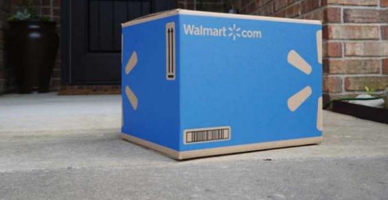 Walmart online delivery package