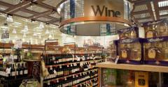 Raley's wine section