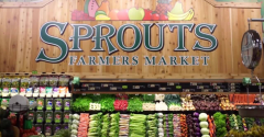 Sprouts Farmers Market in-store banner