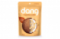 Bag of Dang! chips, coconut chips with few ingredients in caramel flavoring.