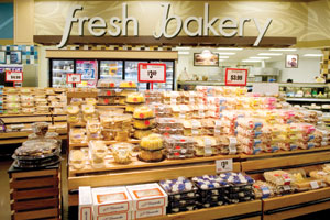 Specialty bakery items and an olive bar highlight expanded fresh departments at Weis.