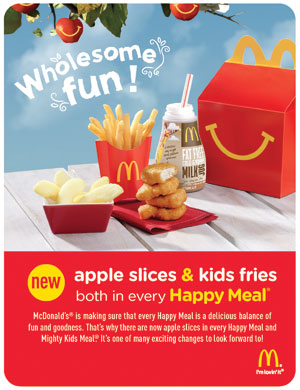 The revamped Happy Meal prompted other QSRs to update offerings.