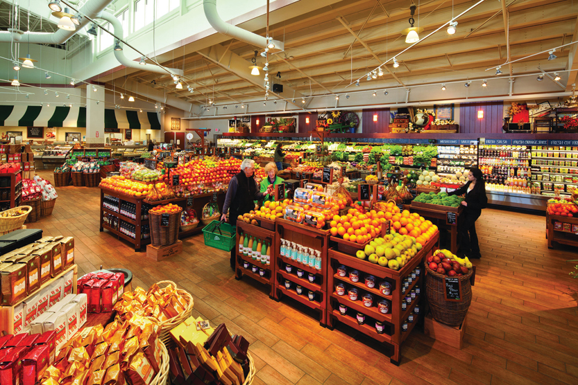 The Fresh Market emphasizes a strong perishables offering and high service levels.