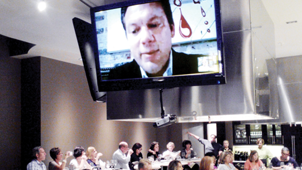 Dierbergs and other retailers are testing Skype-led celebrity tastings.