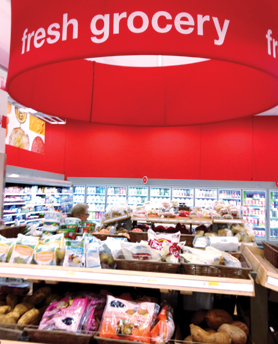 After rolling out P-fresh remodels that have greatly expanded its offering of food products in most of its stores