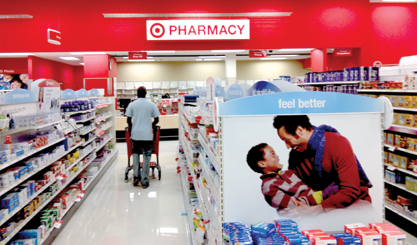 Pharmacy has been a part of Target's focus on wellness.