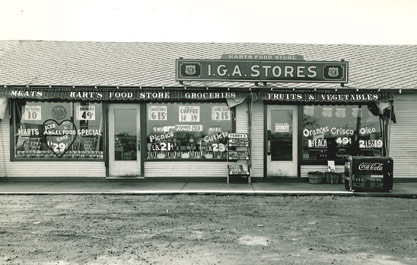 Another early IGA store.