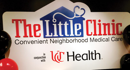 The Little Clinic's partnership with UC Health is one of several health affiliations forged by the Kroger-owned clinic.