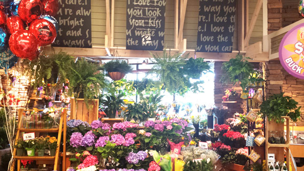 Roche Bros. stores feature destination floral departments.