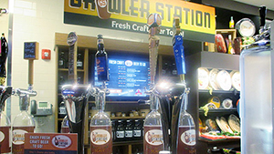 "The Growler Station is just one of many ""Wows!"" customers will find at Market Bistro."