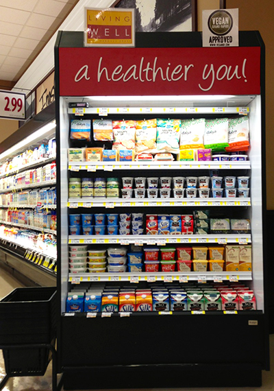 SpartanNash recently unveiled a 4-foot dairy-free case at its flagship D&W Fresh Market.