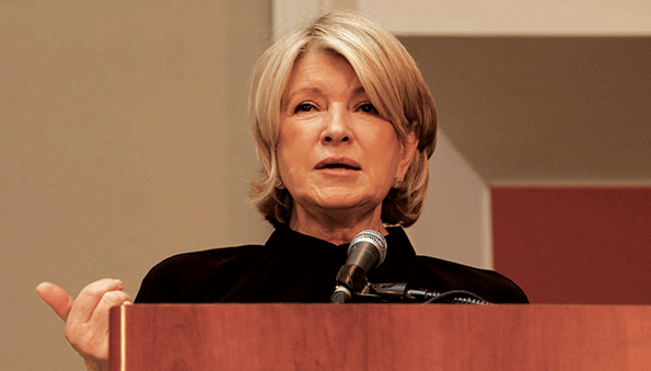 Martha Stewart speaks during a PLMA show session Monday. (Photo courtesy of PLMA)