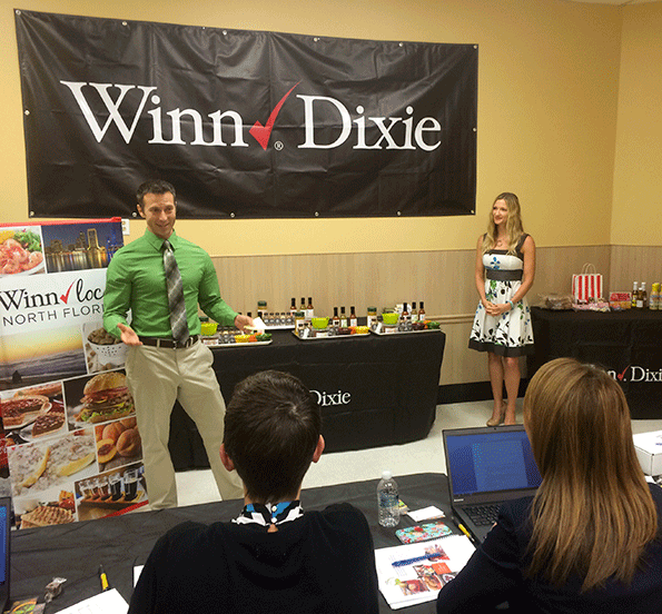 Jason and Hillary McDonald developed the FreshJax line of sauces, blends and other products.