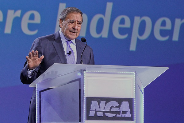 Leon E. Panetta, former U.S. secretary of defense and former director of the CIA, delivered the keynote address Sunday night.