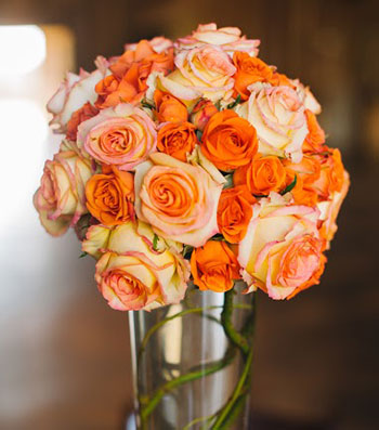 Brides often choose customized bouquets.