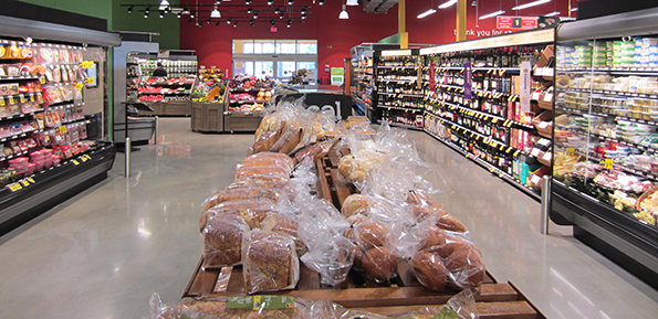 Hannaford has opened a smaller store with a fresh food focus.