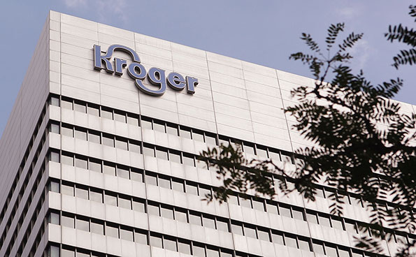 """Kroger continues to stand out from the pack,"" says CEO Rodney McMullen. (Photo by Getty Images)"