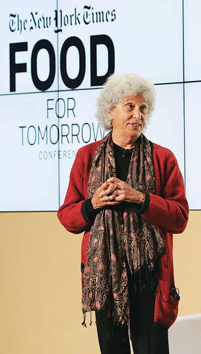 Marion Nestle is a go-to source on food issues by the general media, a role she takes very seriously.