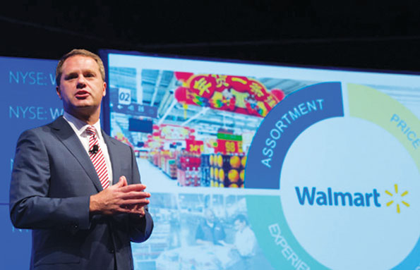 "Walmart CEO Doug McMillon says price investment will lag store improvements: ""You clean up your house before you invite people over."""