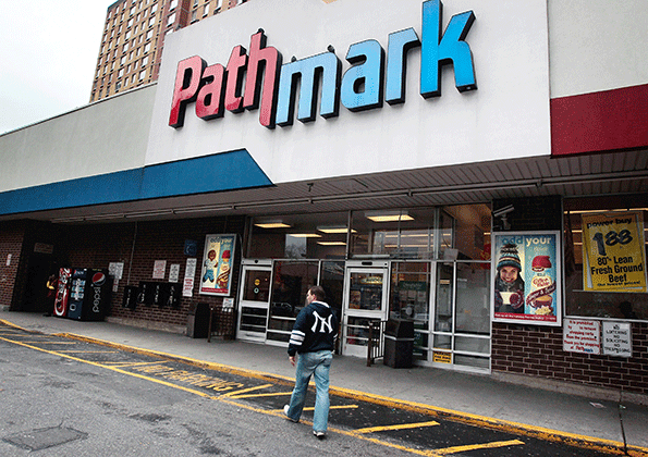 Food Bazaar and Federal Realty have each bid on Pathmark stores. (Getty Images)
