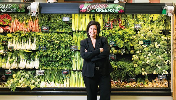 Donna Tweeten, SVP and chief marketing officer of Hy-Vee, is being recognized as SN's 2016 Marketer of the Year award winner.