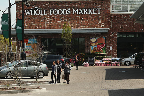 The 56,000-square-foot Whole Foods Market in Brooklyn, N.Y. (Getty Images)