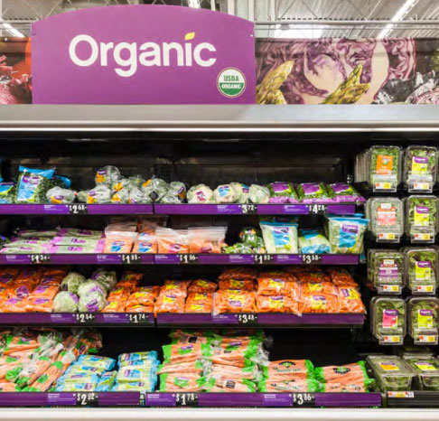 Walmart continues to expand its organic lineup.