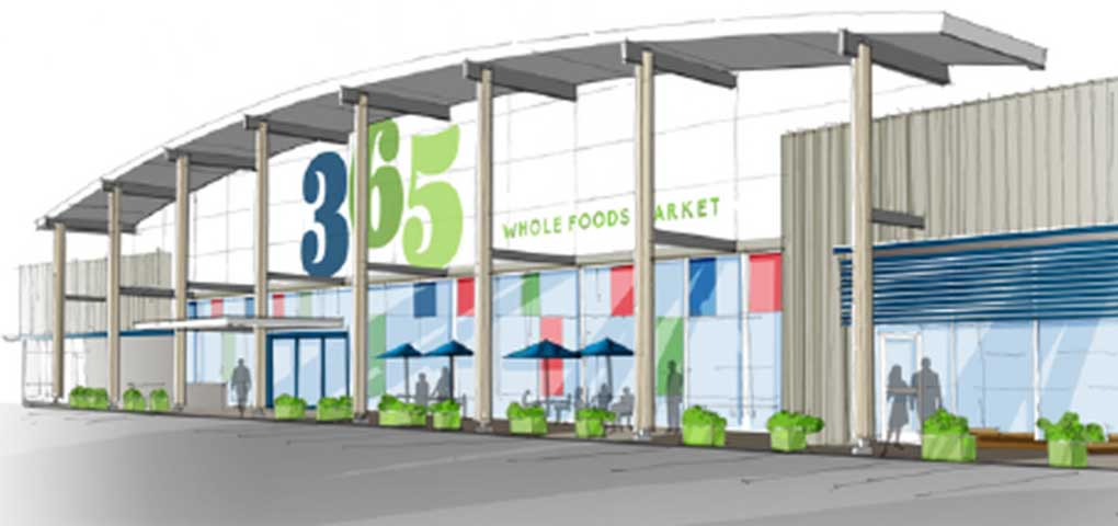 Whole Foods is opening its first 365 store in Los Angeles.