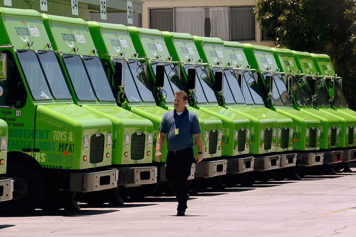 AmazonFresh is the online leader's main food offering.