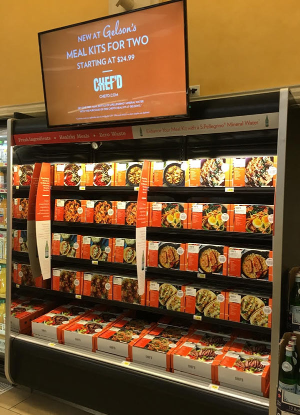 gelson u2019s gives chef u2019d meal kits first retail stage