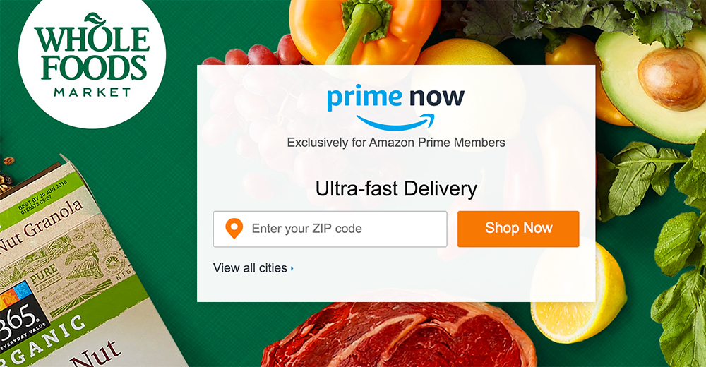 Amazon Whole Foods Prime Delivery