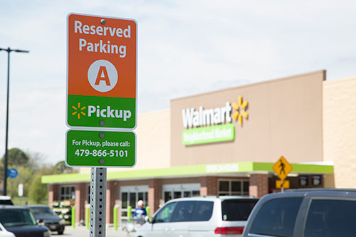 Walmart opening 1000 online grocery pickup location