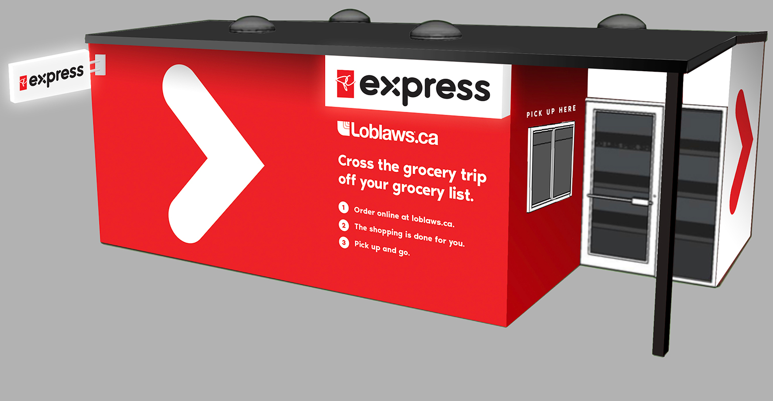 loblaw introduces e commerce commuter initiative supermarket news. Black Bedroom Furniture Sets. Home Design Ideas