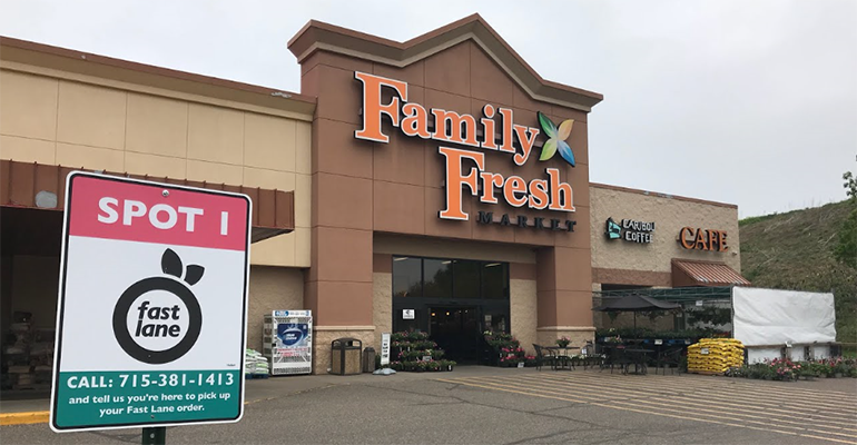 Family Fresh Market launches curbside pickup