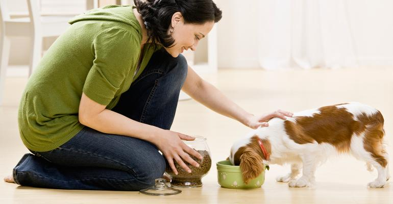 More pet owners are choosing food that is packed with health benefits